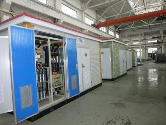 箱式变电站生产车间